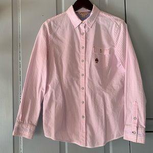 BROOKS BROTHERS Pinstripe Oxford Cloth Shirt